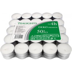 Pack 50 calientaplatos (Tealights)