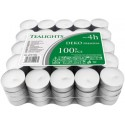 Pack de 100 calientaplatos (Tealights)