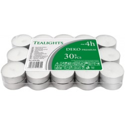 Pack 30 calientaplatos (Tealights)